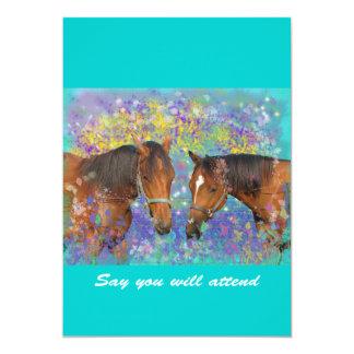 Fantasía ideal del caballo que protagoniza dos