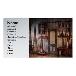 Fantasía - laboratorio del prototipo del gorra del plantillas de tarjetas personales