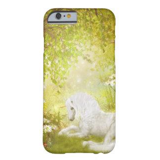 Fantasía mágica encantada del reino del bosque del funda de iPhone 6 barely there