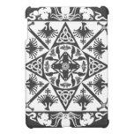 Fantasía medieval céltica del blanco gris iPad mini carcasas