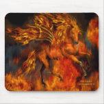 Fantasía Mousepad del bailarín del fuego Alfombrilla De Raton