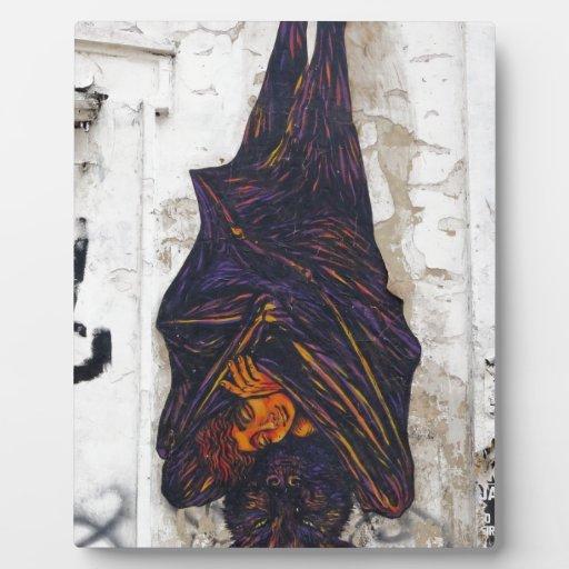 Fantasía mural del zorro de vuelo del arte de la c placas con foto