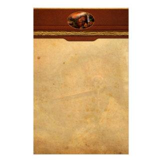 Fantasía - nave arruinada papeleria personalizada