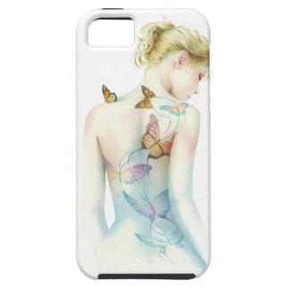 """""""Fantasía pintada de la señora"""" tatuaje iPhone 5 Case-Mate Carcasa"""