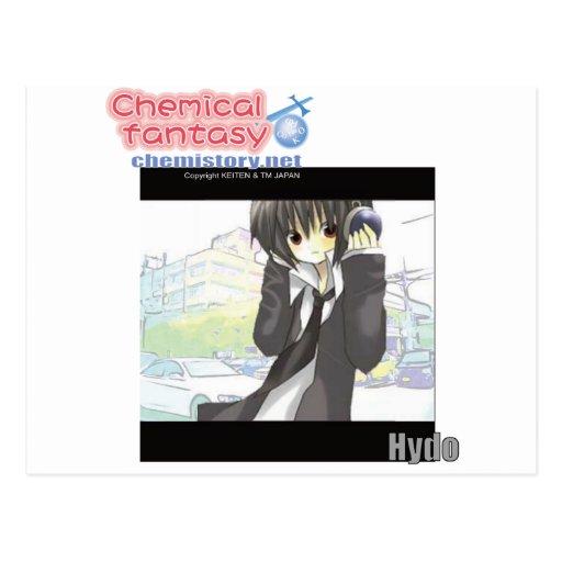 Fantasía química de 001 Hydoof (hidrógeno) Postal