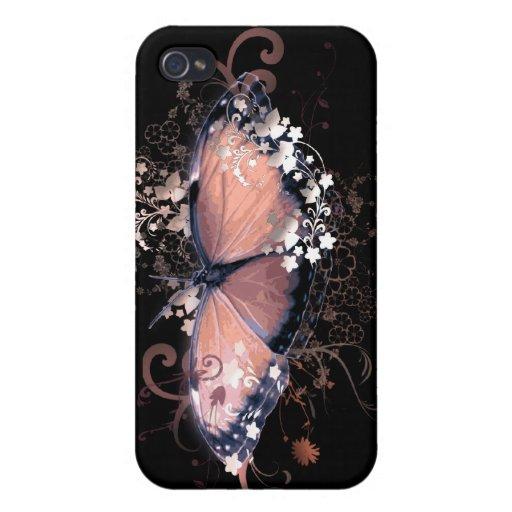 Fantasía rosada iPhone 4 carcasa