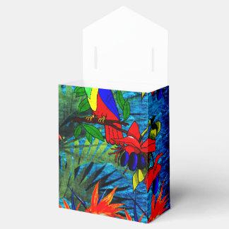 Fantasía tropical cajas para regalos