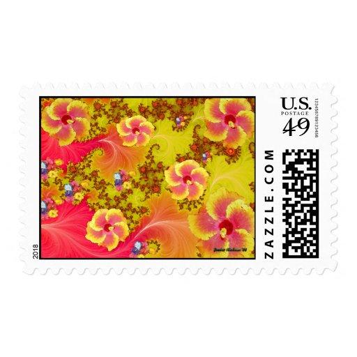 Fantasía tropical sello