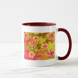 Fantasía tropical taza