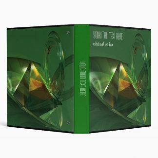 Fantasía verde elegante del extracto 3D