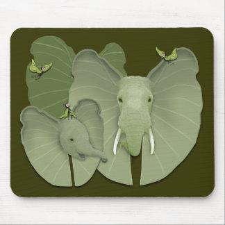 Fantasía verde tapete de ratón