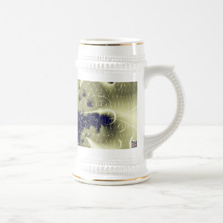 Fantasía verde taza de café