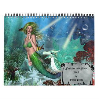 Fantasía y más calendario 2013