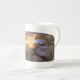 Fantasías crepusculares - taza de la porcelana de  taza de porcelana