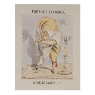 Fantasías satíricas, caricatura de Adolfo Postales