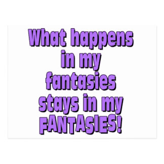 Fantasies Postcard