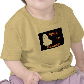 fantasma 1 BEBÉ 1r Halloween Camisetas