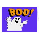 Fantasma 2 del abucheo tarjetas