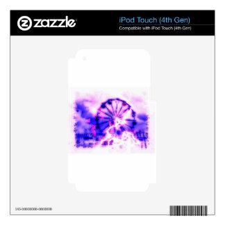 fantasma 3.jpg justo iPod touch 4G calcomanía