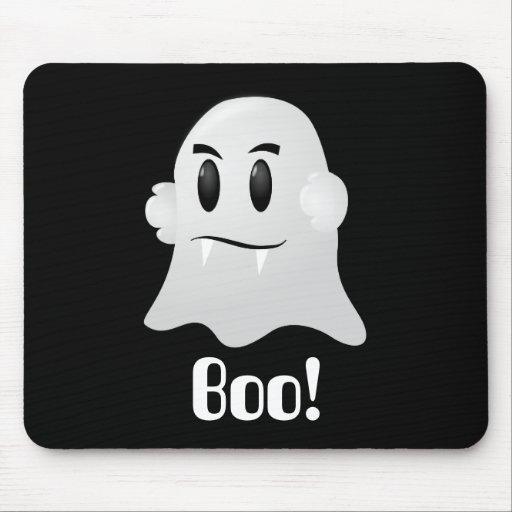 Fantasma amistoso de Halloween Tapete De Ratón