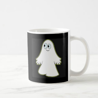 Fantasma blanco taza clásica