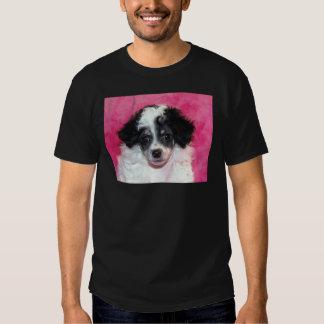 Fantasma/cara del perrito del caniche de Parti Polera