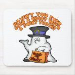 Fantasma con un gusto por lo dulce tapete de raton