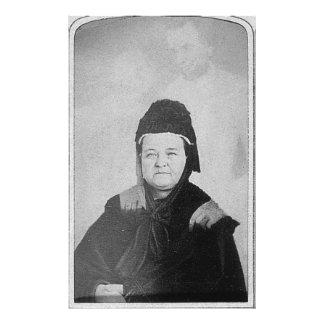 Fantasma de Abraham Lincoln con Maria Lincoln 1869 Fotografía