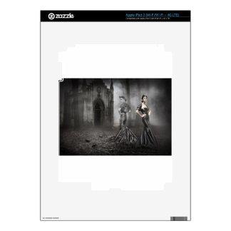 Fantasma de Anixias de la hermana gemela iPad 3 Pegatinas Skins