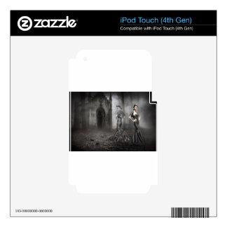 Fantasma de Anixias de la hermana gemela iPod Touch 4G Skins