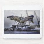Fantasma de F-4C Alfombrillas De Ratones
