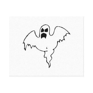 Fantasma de Halloween Impresion En Lona