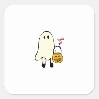Fantasma de Halloween Etiquetas