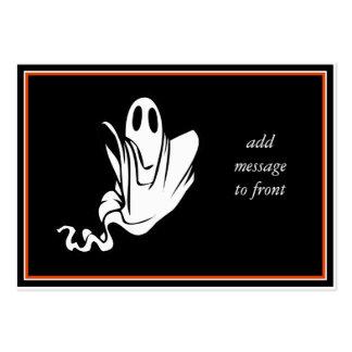 ¡Fantasma de Halloween que flota su manera! Tarjetas De Visita Grandes
