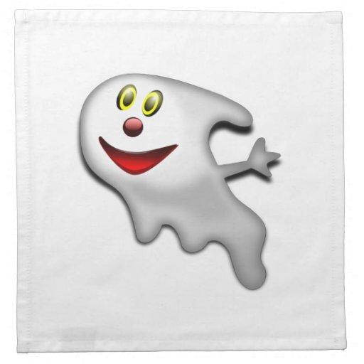 Fantasma de Halloween Servilleta Imprimida