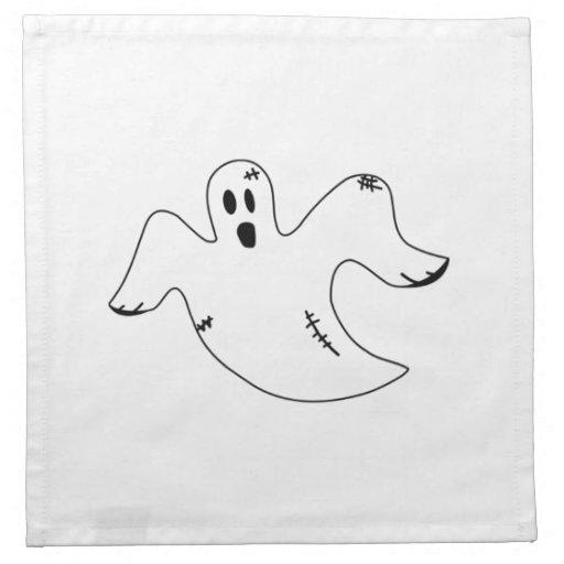 Fantasma de Halloween Servilleta De Papel