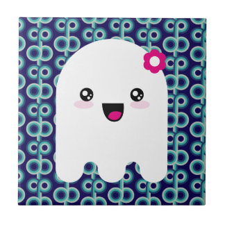 Fantasma de Kawaii Azulejos