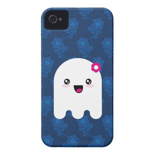 Fantasma de Kawaii Case-Mate iPhone 4 Cárcasa