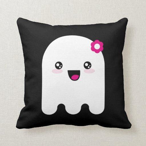 Fantasma de Kawaii Cojines