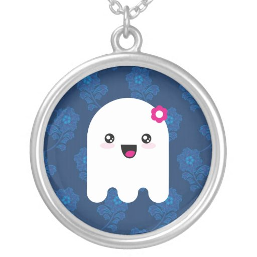 Fantasma de Kawaii Pendiente Personalizado