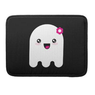 Fantasma de Kawaii Funda Para Macbooks