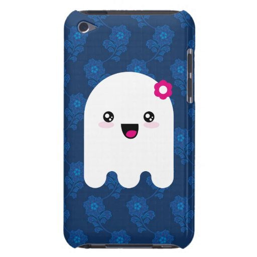 Fantasma de Kawaii iPod Case-Mate Protectores