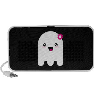 Fantasma de Kawaii Laptop Altavoces