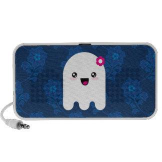 Fantasma de Kawaii Laptop Altavoz