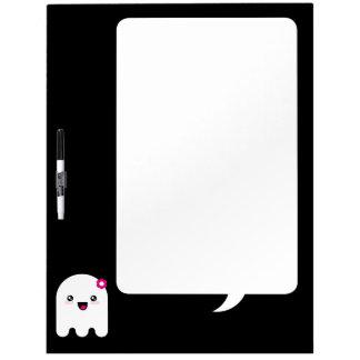 Fantasma de Kawaii Pizarras Blancas De Calidad