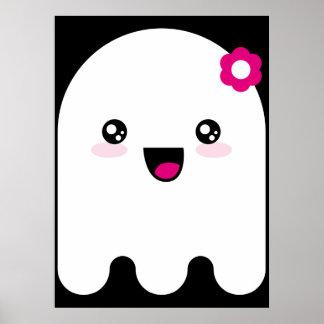 Fantasma de Kawaii Poster