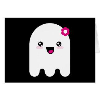 Fantasma de Kawaii Tarjeta De Felicitación