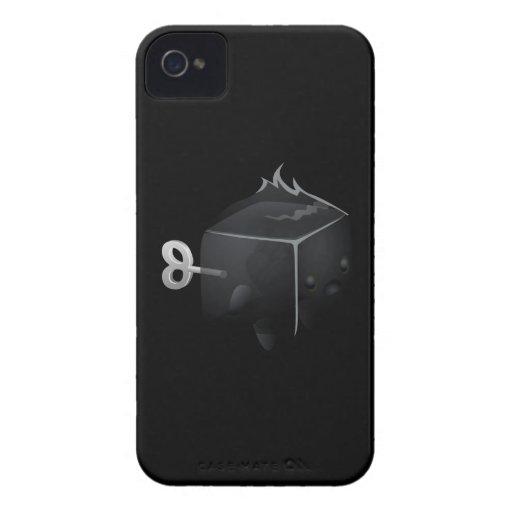 Fantasma de la interferencia cubimal iPhone 4 Case-Mate cobertura