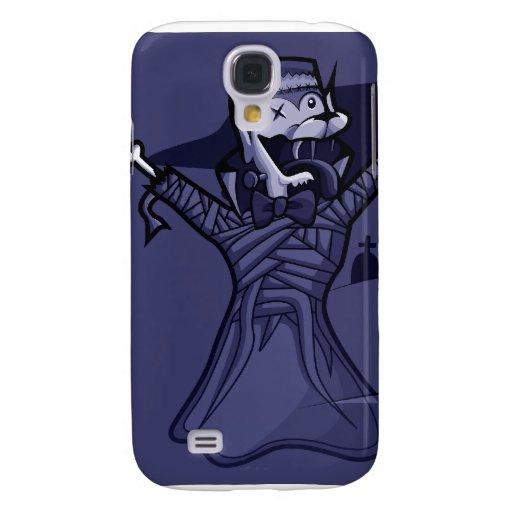 Fantasma de la momia de Frankenwolf de la cuenta d Funda Para Galaxy S4