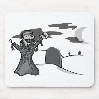 Fantasma de la momia de Frankenwolf de la cuenta d Tapetes De Ratón